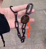 Wholesale clay ceramic pendants resale online - Mini Tennis Racket Keychain Key Ring Cute Sport Charm Tennis Ball Keychains Car Bag Pendant Keyring Gift Colors Free DHL G256Q Gift
