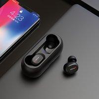bluetooth qcy al por mayor-auriculares inalámbricos auriculares inalámbricos QCY qs1 TWS 5.0 Bluetooth estéreo de auriculares con micrófono dual 3D