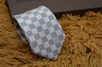 pescoço 8cm venda por atacado-Luxo 8 CM dos homens Padrão de Impressão Gravatas para Gravatas Dos Homens Slim Marca Designer de Poliéster Jacquard Gravata Pescoço Gravata de Casamento Laços Estreitos com caixa