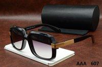 modelos femininos modelagem óculos de sol venda por atacado-2019 novo 607 de alta qualidade marca designer moda masculina moda óculos de sol modelos femininos estilo retro uv380 óculos de sol unisex a0011