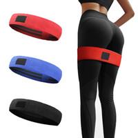 Body Building Pilates Yoga Resistance Bands Elastic Hip Circle Fitness Squat Resistance Bands Circle Yoga Stretch Belt