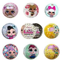 ingrosso giocattoli pvc per i bambini-Confetti PoP Doll, Littles Sister, Aquarium Mermaid, BFFs White / Black, Yellow PET, Pink Angel, LIL Unicorn, Silver Doll Best Kids Toys Gifts