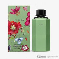 bouteilles de parfum vert achat en gros de-Parfum pour femme 2019 été parfum dame limitée nouveau parfum bouteille vert avocat 100ml Gardenia EDT haute qualité et bateau gratuit