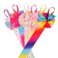 Wholesale grosgrain ribbon headbands for baby for sale - Group buy 25 Inch Long Hair Bow Holder Hair Clips Organizer Colorful Grosgrain Ribbon Barrette Holders For Baby Girls Hair Accessories