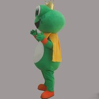 trajes do epe venda por atacado-2019 Desconto venda da fábrica Super Hot Frog Príncipe Mascot Costume Fancy Dress EPE