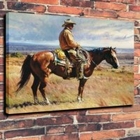 Wholesale wall rider for sale - Group buy Rider Cowboy With Lasso Home Decor Handcrafts HD Print Oil Painting On Canvas Wall Art Canvas Pictures