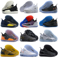 Wholesale black kd mid shoes for sale - Group buy 2019 New KD EP White Orange Foam Pink Paranoid Oreo ICE Basketball Shoes Original Kevin Durant XI KD11 Mens Sneakers Size