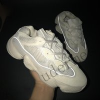 Wholesale new shoes mouse online - New Kanye West Descrt red desert mouse super moon yellow running shoes practical black men sneakers outdoor sports shoes