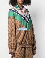 patrones de abrigo largo para mujer al por mayor-Top de manga larga con top estampado floral con estampado floral, para mujer, moda para mujer multicolor Manga larga, con capucha, protector solar cortaviento