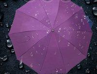 iş şemsiyeleri toptan satış-High-end lüks katı renk kenar nano kumaş şemsiye popüler 10 k süper çift şemsiye iş şemsiye fabrika doğrudan ücretsiz kargo