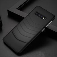 galaksi notu için cep telefonu kapakları toptan satış-Samsung not 9 için lüks deri kılıf Samsung Galaxy S10 S9 S8 Artı Not 9 8 cep telefonu kılıfı iş İnce kapak