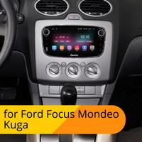 araba radyosu android ford toptan satış-Ownice Android 9.0 4G Ford Focus Mondeo Kuga S-MAX Galaxy 2 din araba DVD radyo Oynatıcı