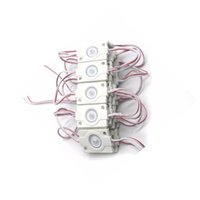 güç 12v ledli modüller toptan satış-Yüksek Güç SMD 3030 LEDBacklight modülü IP67 Su Geçirmez enjeksiyon led modülü, reklam led modülü DC12V 1.5 W ile