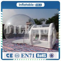 Wholesale china sale toy for sale - Group buy Clear inflatable bubble tent with tunnel For Sale China manufacturer inflatable tents for trade shows inflatable garden tent