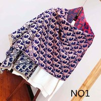 Wholesale optional scarf resale online - Designer Scarf Tops Womens Luxury Atumn Winter Shawl Scarf Design Scarves for Woman Size about x70cm Colors Optional