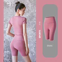 балетная повязка оптовых-Y8cQC Cheap 2020 Gradient Color Ballet Infinite Yoga Leggings Women's High Waist Turnout Capris Pants Dance Spirit Bandage Skinny Tights Sli