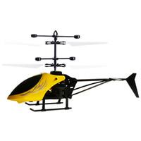 helicópteros de interior al por mayor-Pc396 RC Drone Control remoto Aircraf de inducción resistente a la caída para niños Indoor Play Rc Helicopter