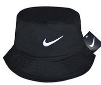 Wholesale blank winter hats for sale - Group buy Hot Selling Fashion Camping Hiking Hunting Fishing Outdoor Bob Cotton Plain Blank Black Bucket Hat Cap Hip Hop Men Women bone