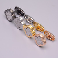 ingrosso i migliori gemelli d'argento-Gemelli della camicia degli uomini di lusso per i gioielli in oro rosa e rame d'argento che timbra il bottone del polsino come usura di nozze degli uomini Migliori gemelli del gemello