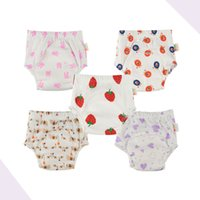 Wholesale baby diapers for cotton for sale - Group buy Baby Toddler Training Pants Cotton Changing Nappy for Kids Infant Washable Cloth Diaper Panties Reusable