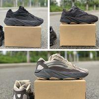 homens, correndo, sapatos, onda venda por atacado-PK Versão 700 V2 Tephra Utilitário Preto Vanta Homens Tênis De Corrida Mulheres Designer Tênis 700 Geode Reflexivo Inércia Onda Corredor Waverunner