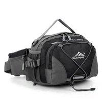 su geçirmez bel çantası çantası toptan satış-Unisex spor çanta Su Geçirmez Koşu Kemer Bum Bel Kılıfı Fanny Paketi Kamp Spor Yürüyüş Omuz Çantası 2019 yeni # 3f26