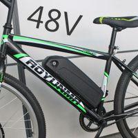Wholesale motor bicycle kits resale online - 48V W Battery V V AH electric bicycle E bike Battery W W BBS02 BBSHD motor kits