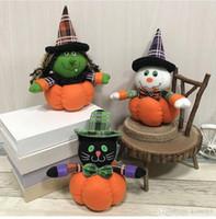 cadılar bayramı eşyaları toptan satış-HEDİYE Cadılar Dekor Cadılar Bayramı Doll Hayalet Cadı kedi Bar Kabak Atmosfer Prop şeyler Oyuncak çocuklar hediye