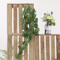 Wholesale artificial hanging plant decoration wedding for sale - Group buy Wedding House Rattan Tortoise Simulation Plant Exhibition Hanging Green Turtle Wall Artificial Hanging Plant Home Decorations