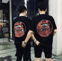 kadın demek toptan satış-CAV EMPT C. E MEANS-END TEE Erkek Kadın Tshirt Kanye West Harajuku Hip Hop Pamuk erkek arkadaşı boy streetwear en komik t gömlek