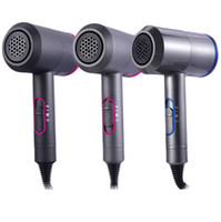ingrosso caso rapido-Asciugacapelli elettrico Strumenti professionali per la cura dei capelli con forte vento Asciugacapelli Asciugatura rapida Forniture per la casa LJJO7117A