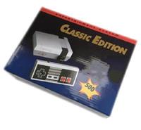 yeni oyun sistemleri toptan satış-Klasik Oyun TV Video El Konsolu Için Yeni Eğlence Sistemi Klasik Oyunları 500 Yeni Edition Modeli NES Mini Oyun Konsolları dhlfree