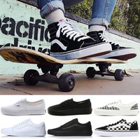 9f4fbe1e54f7 Wholesale white van shoes for sale - Luxury VANS Fear of God Old Skool  Authentic Canvas
