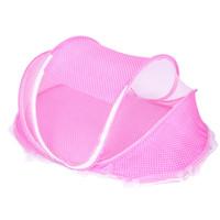 ingrosso set di culla per neonati rosa-3in1 0-3 anni rosa / blu culla biancheria da letto per bambini zanzariera portatile pieghevole lettino per bambini culla zanzariera letto da viaggio in cotone