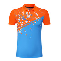 camisa de bádminton mujer al por mayor-Nuevas camisetas de bádminton para hombres / mujeres, camiseta de tenis seco y fresco, camiseta de bádminton deportiva camisetas de tenis, camiseta de mesa 3868AB