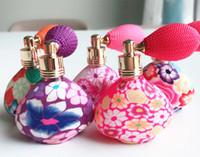 pumpen parfums groihandel-15 ml Ballon Leere Parfüm Flaschen Nachfüllbare Flasche Spray Polymer Clay Spray Duftpumpe Fall Reise Tragbare Zufällige Farbe