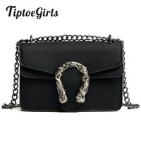 3139652a41b9 Tiptoegirls Fashion Women Bags New Design Girls  Shoulder Bags Diagonal  Quality Leather Lady Handbags Vintage Chains Small Bag