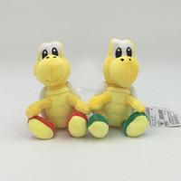 ingrosso yoshi roba giocattolo-La peluche di Mario Yoshi del giocattolo di Mario Yoshi della peluche di Mario di Super Mario di 6 pollici ha piegato la migliore bambola del regalo lol trasporto libero