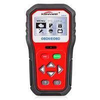 besten codeleser für autos großhandel-Am besten Codeleser-Diagnose des Scanner-OBD2 KW818 russisches spanisches Automobiles Escaner Portugues besseres Auto-Detektor AL519