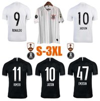 Wholesale jersey brazil thai for sale - Group buy New Thai quality S XL Brazil Corinthian Paulista Soccer Jersey CLAYTON JADSON ROMERO PABLO M GABRIEL Football Shirt