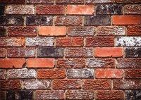 pared de ladrillo prop al por mayor-Shengyongbao Vinilo Fotografía Personalizada Telones de fondo Prop digital impresa Horizontal tablero de la pared de ladrillo tema Photo Studio Background 18418-106