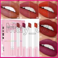 Wholesale lipsticks store for sale - Group buy Beauty Store Top Quality cigarette Lip Makeup lipstick single piece of matte velvet easy to color mist surface durable pipe lipstick