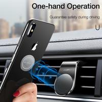 iphone типы мобильный samsung оптовых-Магнитный держатель телефона автомобиля для iPhone Samsung Xiaomi L-тип автомобиля вентиляционное отверстие мобильный держатель для телефона в автомобиле сильный магнит