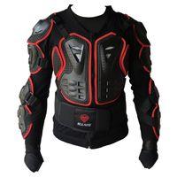 ingrosso sesso solido del corpo-armatura professionale per motociclisti Cross bike Armor Telo di protezione solido S M L XL XXL Taglia XXXL disponibile per il sesso
