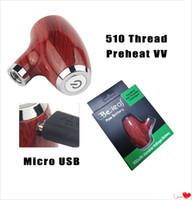 Wholesale usb pipe resale online - KY32 E Pipe Mechanical Mod Starter Kit Electronic Cigarette Variable Voltage Battery mAh Preheat Vaporizer Pen Micro USB for Cookies Cart