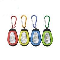 ingrosso mini proiettore-Potente magnete COB Lanterna LED Mini proiettore Fibbia alpinismo Campeggio esterno Lampada da pesca notturna Portachiavi Escursionismo 4bl O1