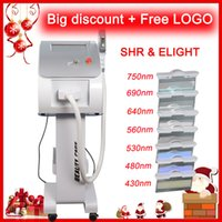 Wholesale ipl professional machine for sale - professional ipl shr laser hair removal machine home use opt shr beauty equipment wrinkle removal beauty IPL machine