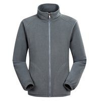 çift fermuar süveter ceketi toptan satış-Ceket Rahat Ceket Sonbahar Ve Kış Yeni Stil Moda erkek Spor Çift Polar Kazak Fermuar Yaka Coat Giyim