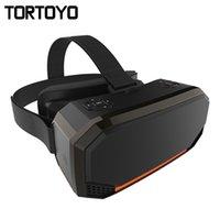 gafas de teatro privado de realidad virtual al por mayor-Inteligente Realidad Virtual cabezal de montaje 2K 2560 * 1440 HD de pantalla todo en uno VR gafas 3D WIFI privada Teatro juego de la película Casco estéreo