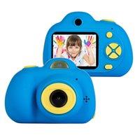 объектив для игрушечной камеры оптовых-Детские развивающие игрушки Фото двойной объектив камеры дети мини Цифровая игрушка камера с фотографией подарки для более чем 3-летний подарок